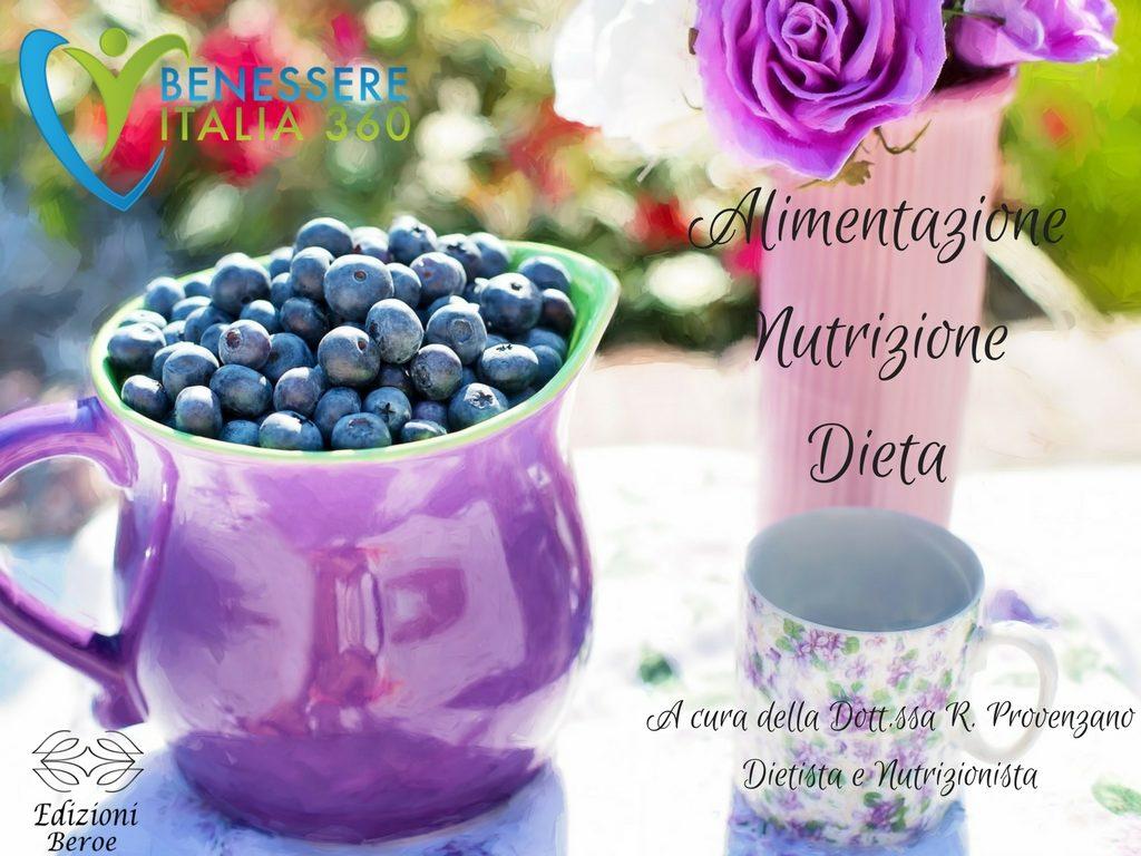 Alimentazione, nutrizione, dieta