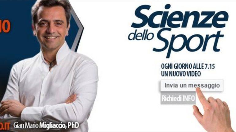 Gian Mario Migliaccio e Sport Science Lab
