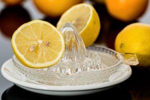 tè verde col limone